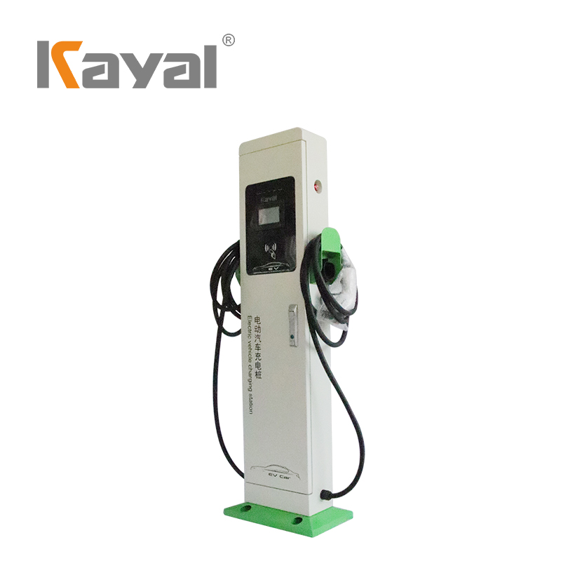 EV Charging Station - Double Plug AC 22KW