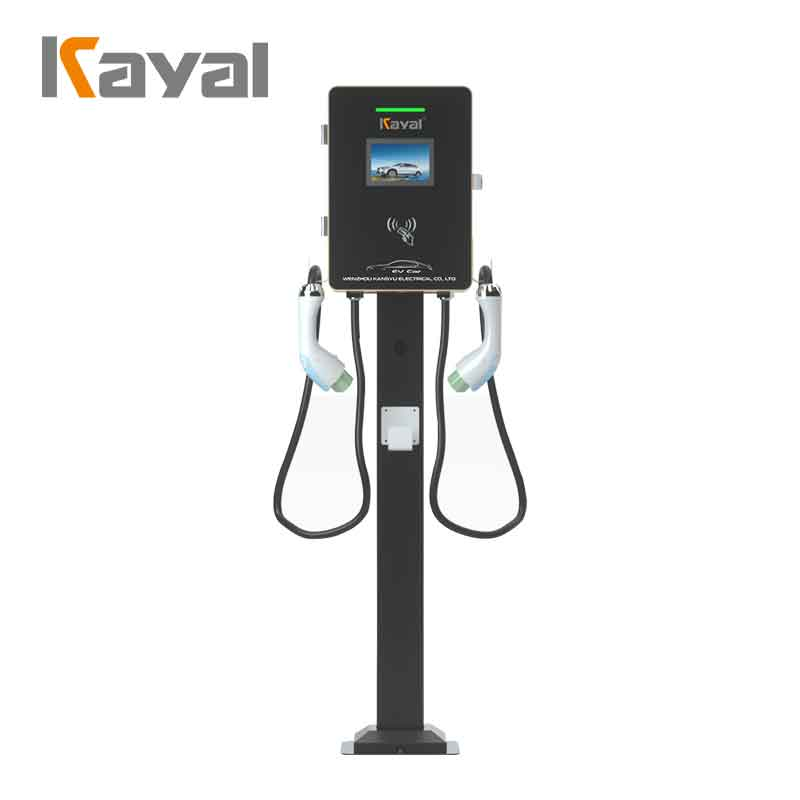 EV Charging Station - Double Plug 14KW